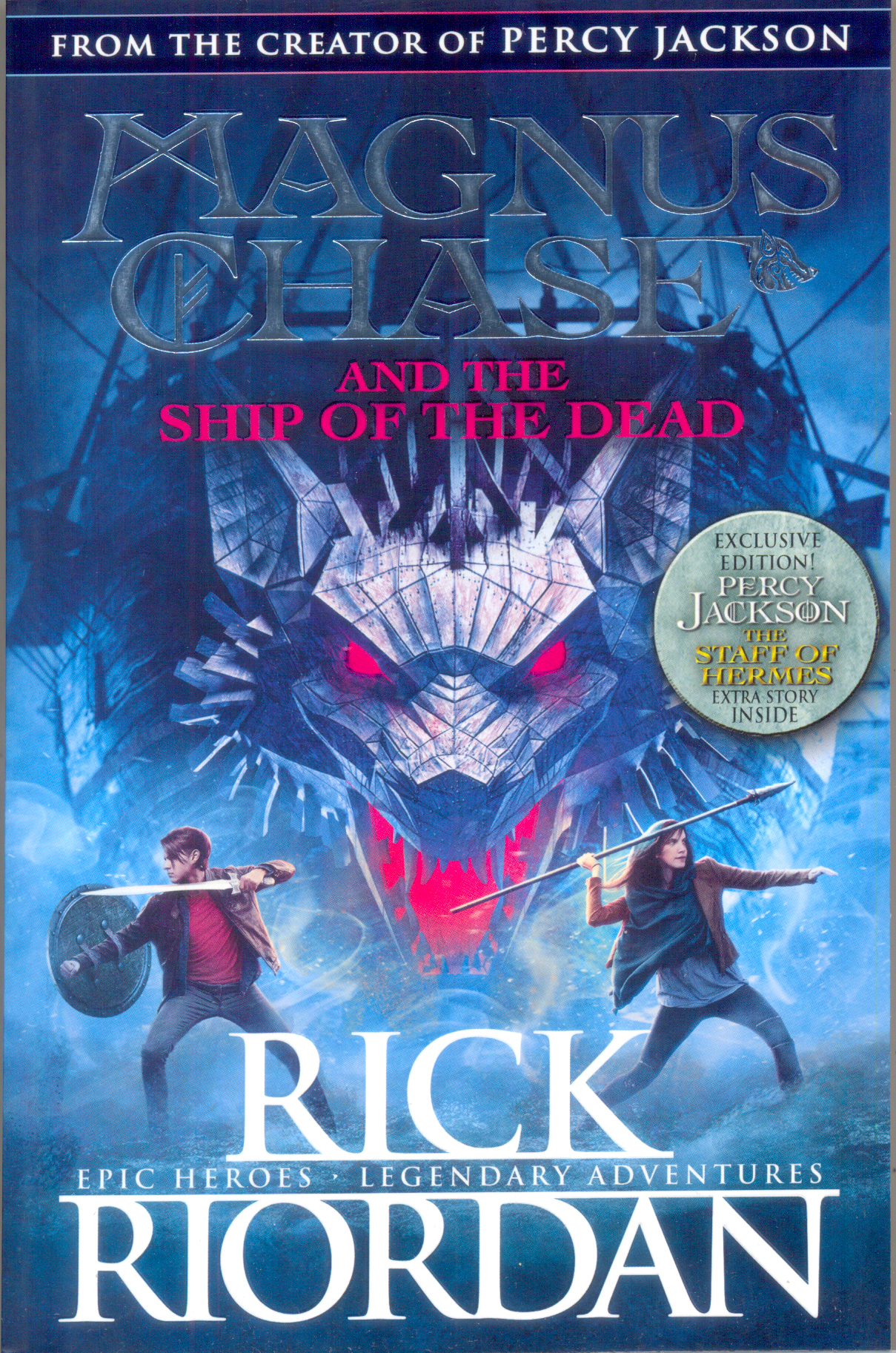Magnus Chase and the Ship of the Dead  : Gods of Asgard 03