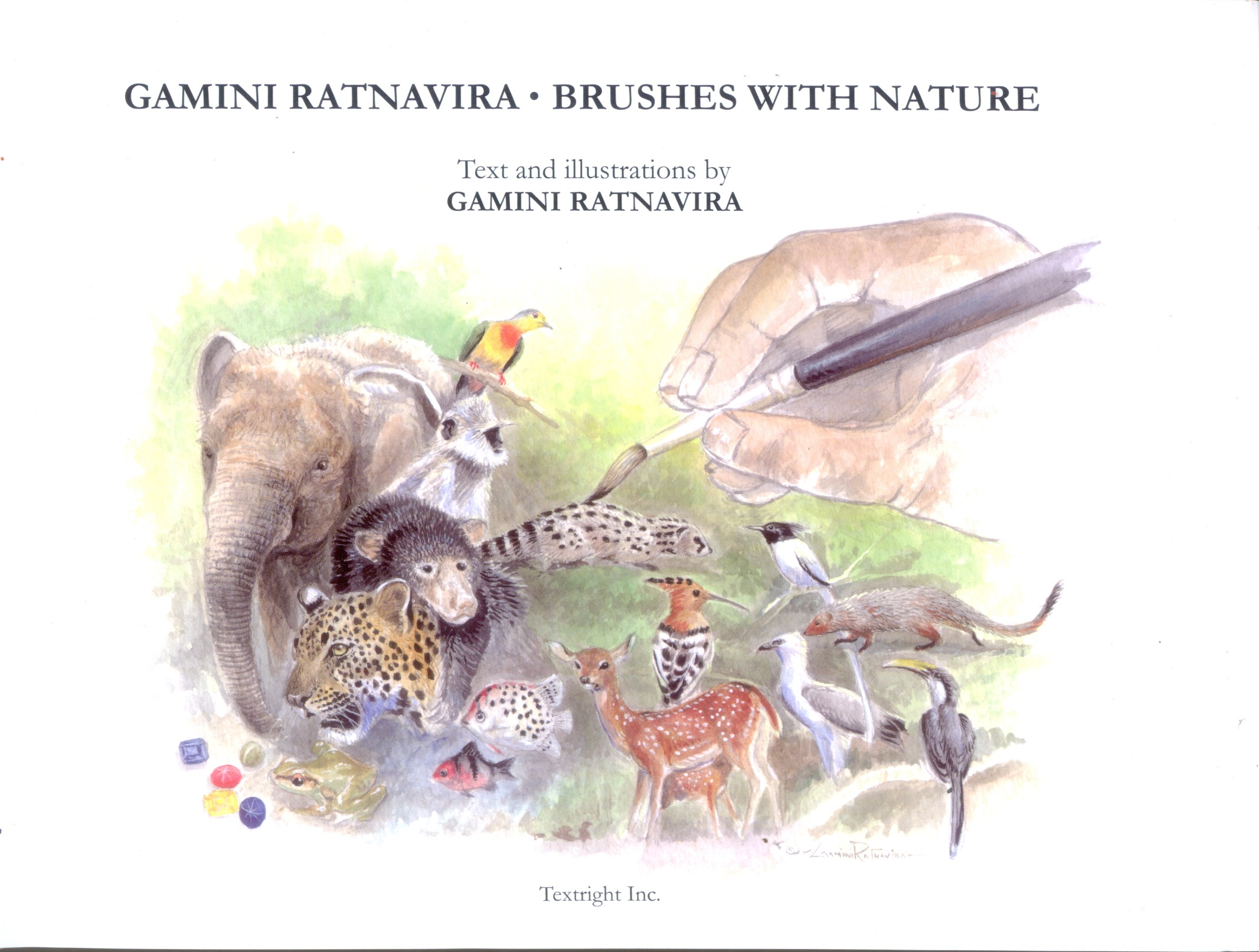 Gamini Ratnavira . Brushes With Nature