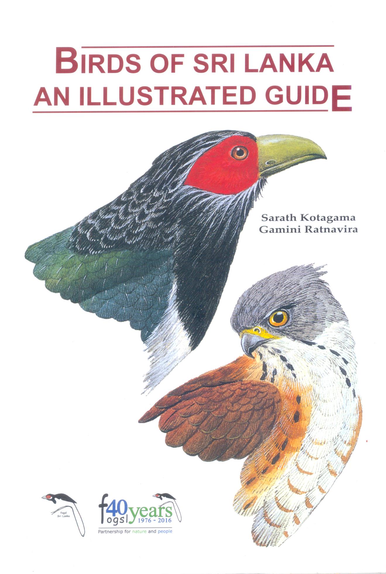 Birds of Sri Lanka An Illustrated Guide