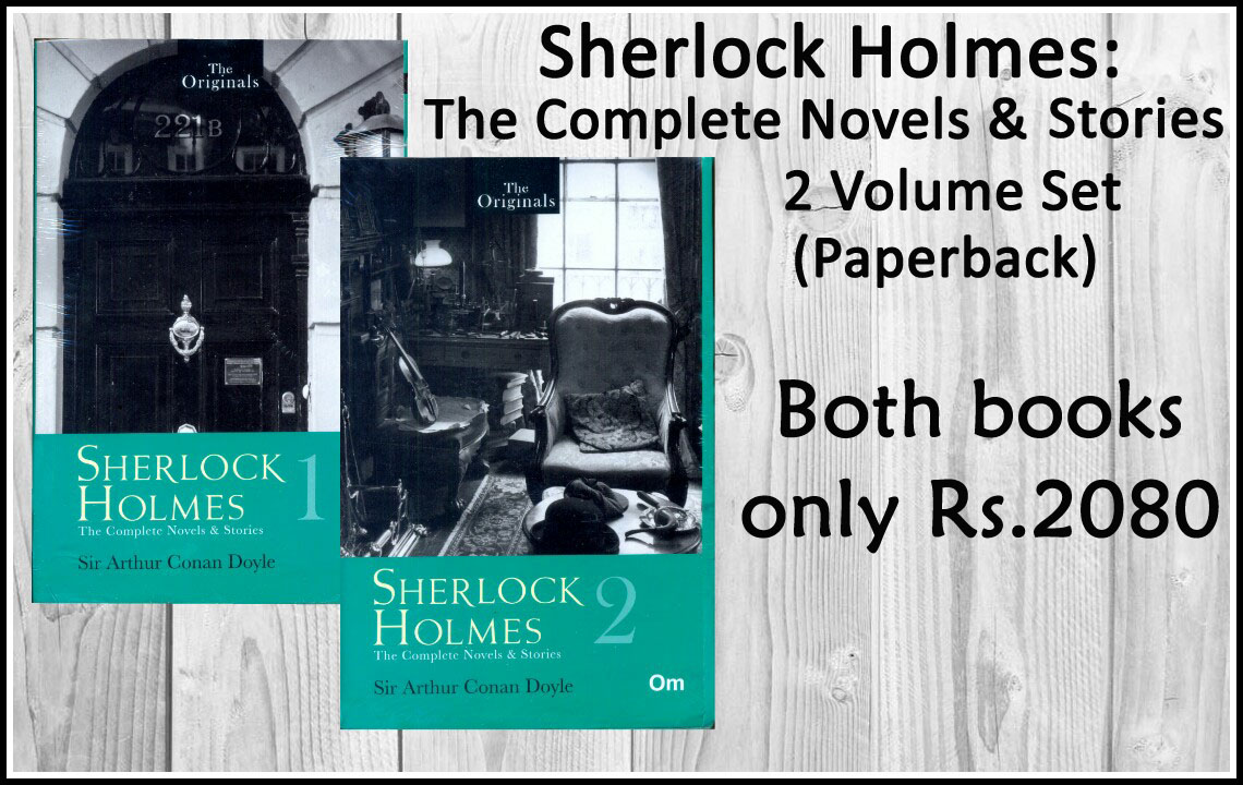 Sherlock Holmes: The Complete Novels and Stories 2 Volume Set (Paperback)