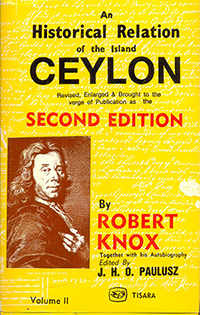 Historical Relation Of The Island Ceylon Vol : II