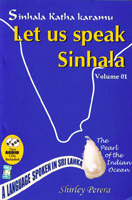 Let Us Speak Sinhala Vol:01 (With CD)