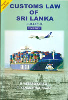 Customs Law of Sri Lanka - A Manual (II Volume Set)