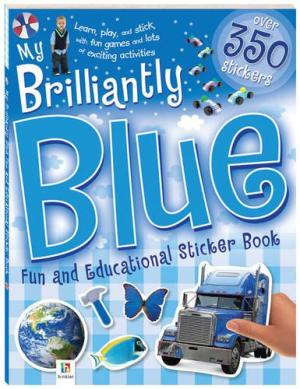 My Brilliantly Blue Sticker Book