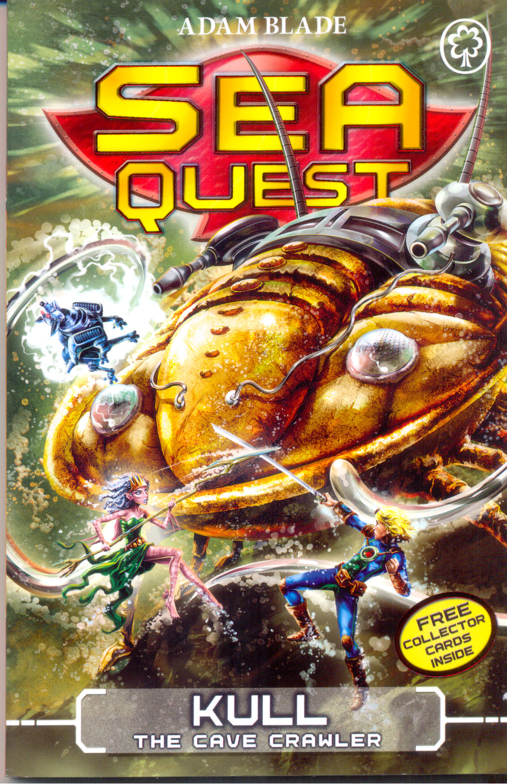 Sea Quest: 23:Kull the cave crawler