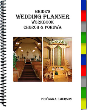 Brides Wedding Planner Workbook : Church & Poruwa