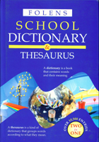 Folens School Dictionary & Thesaurus
