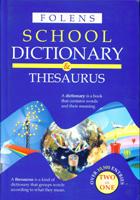 Folens School Dictionary & Thesaurus