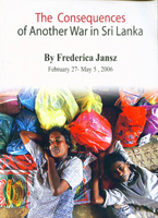 The Consequences of another War in Sri Lanka