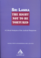Sri Lanka the right not to be tortured
