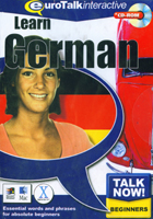 Learn German (Talk Now! Beginners) CD-Rom