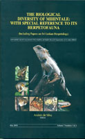 The Biological Diversity of Mihintale : With Special Reference to its Herpetofauna