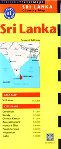 Periplus Sri Lanka Country Map
