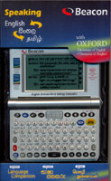 Beacon ETST - 3 English- Sinhala- Tamil Speaking Dictionary With Oxford ( Digital Dictionary)